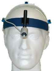 LED Headlight medical from front